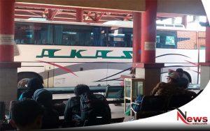 Penumpang Bus Di Terminal Probolinggo Masih Tampak Lengang