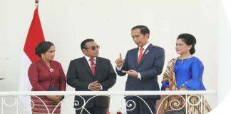Presiden Jokowi Terima Kunjungan Kenegaraan Presiden Timor Leste