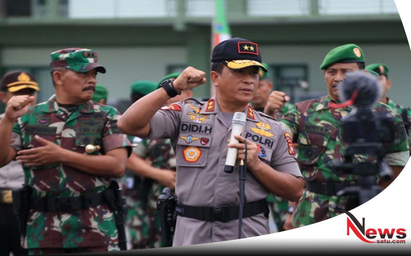 TNI Polri Kalbar Siap Amankan Pilkada Serentak 2018