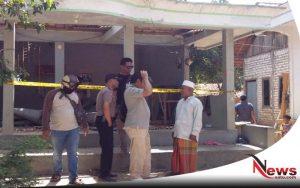 Terkena Ledakan, Sebuah Langgar Di Sampang Hancur