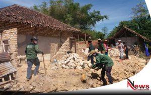Bantu Korban Gempa Di Sumenep, Puluhan LPI Madura Diterjunkan