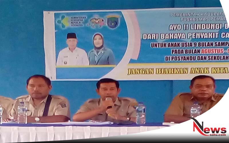 Camat Mesuji Raya Kabupaten OKI Gelar Rakor
