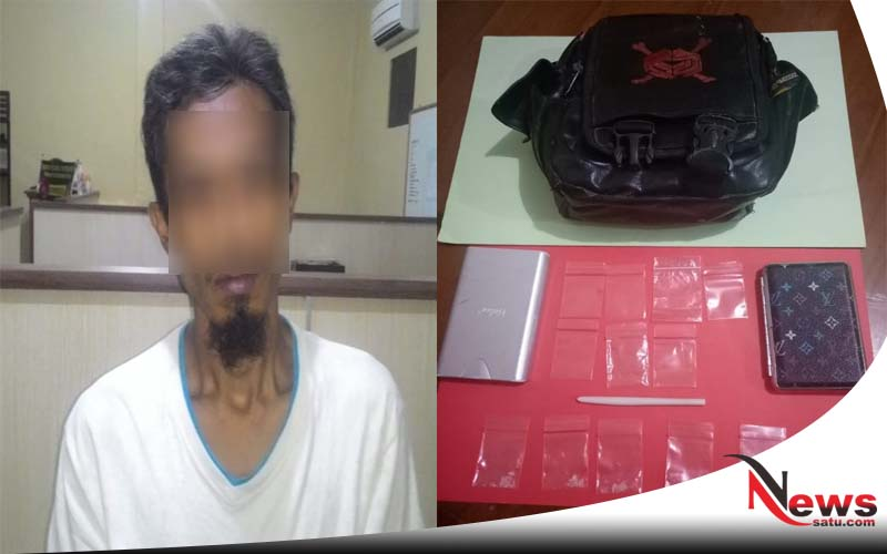 Hendak Transaksi Narkoba, Warga Pandian Sumenep Diciduk Polisi