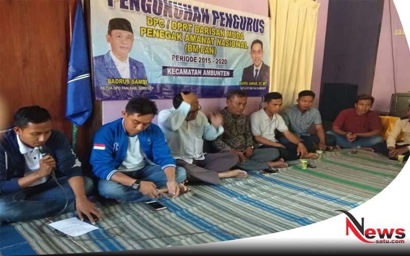 Ketua BM DPD PAN Sumenep; Pentingnya Pemuda Dalam Dunia Demokrasi