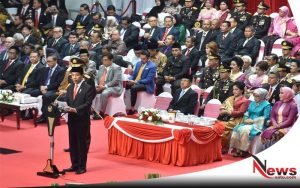 Masuk 10 Negara Teraman Di Dunia, Jokowi Ingatkan Polri Jangan Berpuas Diri