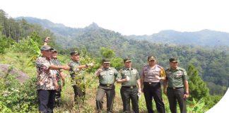 Naik Trail, Mayjen TNI Hartomo Nikmati Puncak Gunung Wilis