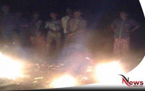 Nekat Curi Motor, Dua Pelaku Pencurian Di Probolinggo Nyaris Dibakar Warga
