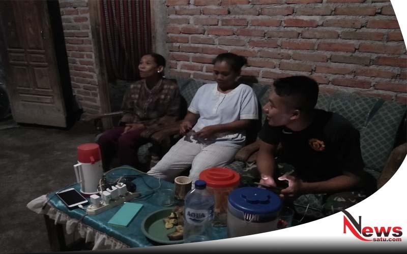 Pastikan Keamanan Kampung, Satgas TMMD Gresik Blusukan Ke Rumah Warga