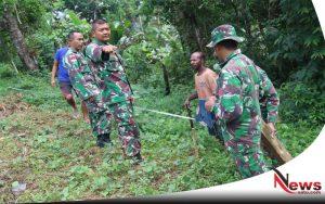 Peduli Pada TNI, Warga Papua Hibahkan Tanah