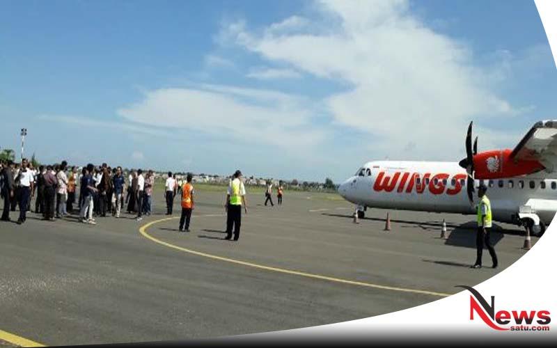 Wisatawan Meningkat, Bandara Trunojoyo Sumenep Layani Penerbangan 2 Kali Sehari