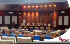 Rapat LKPJ APBD 2017, Wakil Ketua DPRD OKI Marah-marah