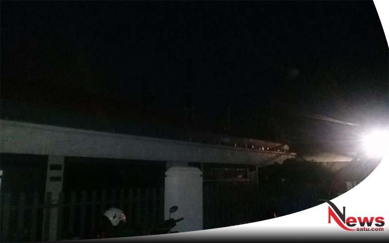 Rumah Pengusaha Gaharu Kebakaran Di Probolinggo