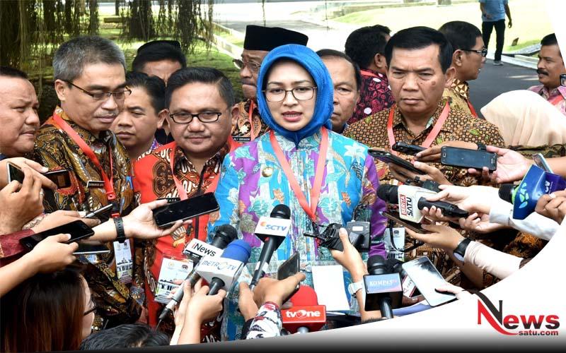 Sejumlah Wali Kota Usulkan Dana Kelurahan (Wali Kota Tanggerang Selatan,Airin Rachmi Diany)