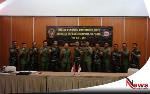 TNI AD Dan Singapore Armed Forces Bahas Persamaan Latma Di Banyuwangi