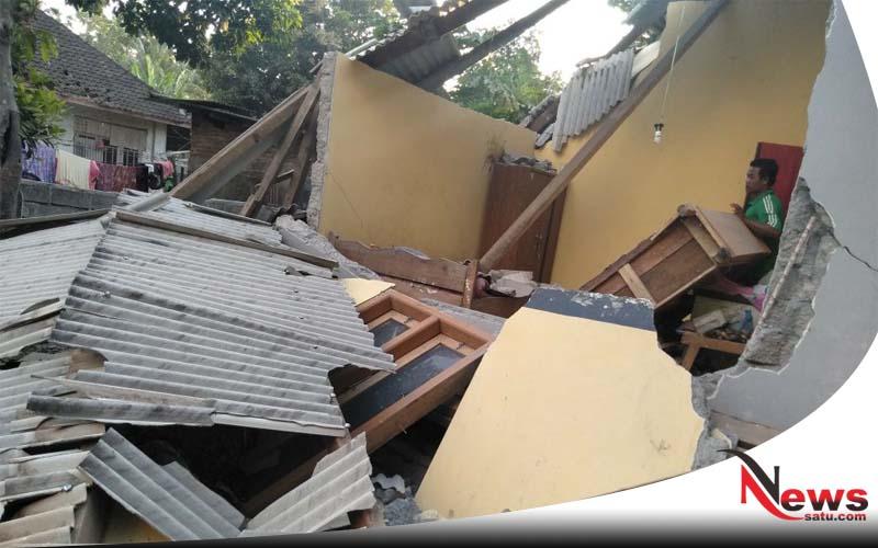 Terdengar Ledakan, Rumah Warga Di Probolinggo Hancur Dan Dua Orang Terluka