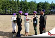 16 Resimen Mahasiswa Ikuti Pelatihan Dasar Militer