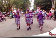 Gerak Jalan Indah Kabupaten OKI Semarakan Hut RI Ke-73