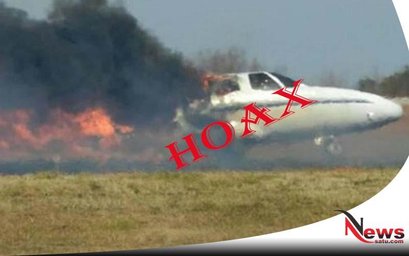 Hoax, Beredar Kabar Pesawat Jatuh Di Probolinggo
