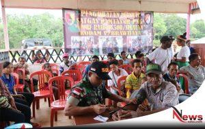 Kampung Patriot Terima Penyuluhan Kesehatan dan Pengobatan Massal
