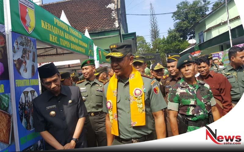 Pangdam Resmikan Gedung Serbaguna Jenderal Sudirman