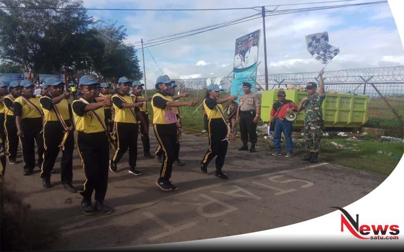 Pelajar Papua Meriahkan HUT Kemerdekaan RI Ke 73