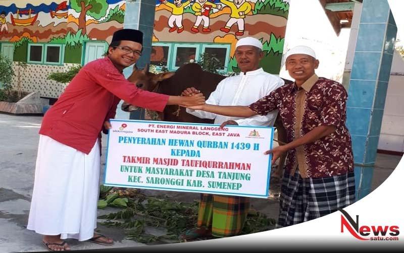 Rayakan Idul Adha, EML Perkuat Komitmen Sosial Kemasyarakatan Di Tanjung Sumenep