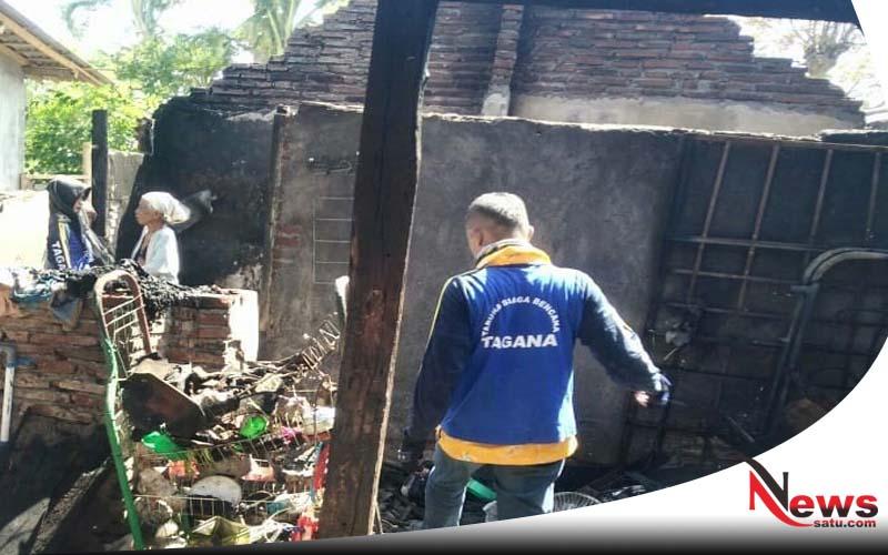 Tiga Rumah Warga Di Probolinggo Terbakar