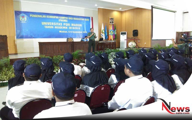 Cegah Radikalisme Korem 081 DSJ Gandeng Mahasiswa Di Madiun