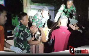 Diduga Mengantuk, Mobil Pick Up Terperosok Ke Jurang Di Marauke
