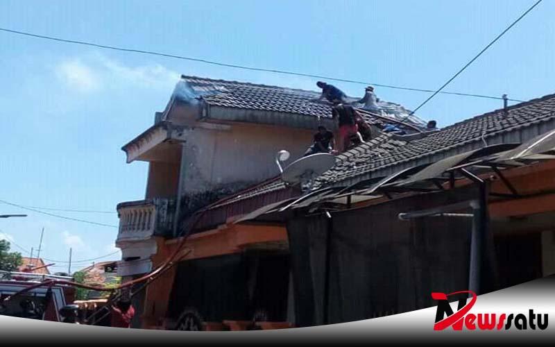 Dua Rumah Di Kawasan Perumahan Pamekasan Terbakar