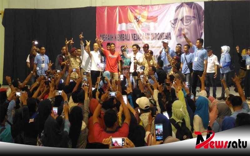Emak-emak Bantu Biaya Kampanye Sandiaga Uno, Ini Kata Ketua Relawan PADI Sumenep