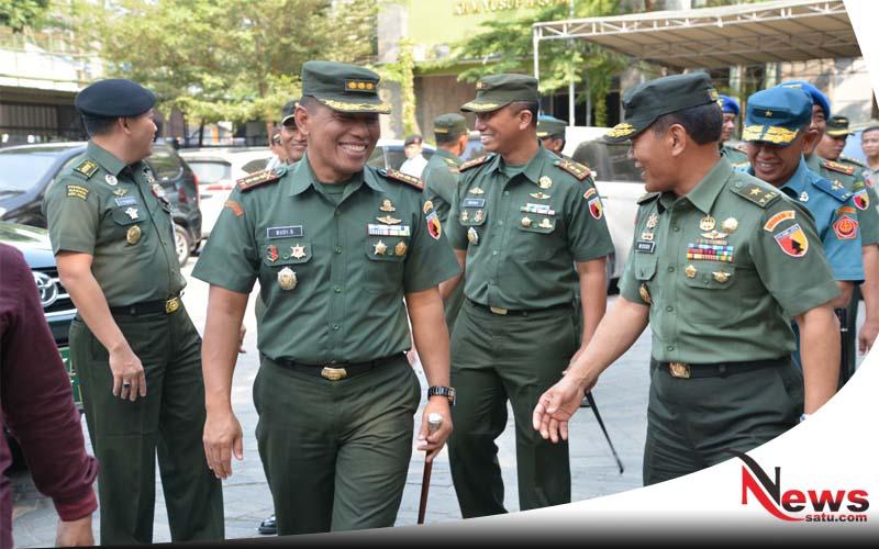 Kasdam Tinjau Lokasi Ziarah Panglima TNI Di Jombang