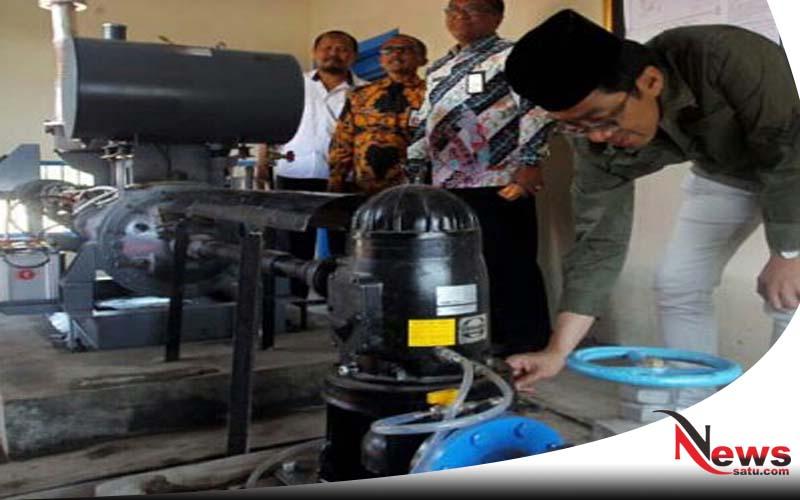 Pemkab Probolinggo Bangun Rumah Pompa Air Pada Petani