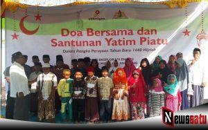 Rayakan Tahun Baru Islam, SKK Migas-EML Santuni Yatim Piatu