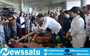 Ini Janji Presiden Jokowi Saat Jenguk Korban Gempa Di Rumah Sakit Darurat Kota Palu