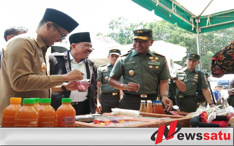 Pangdam V Brawijaya Hadiri Pembukaan TMMD di Bangkalan