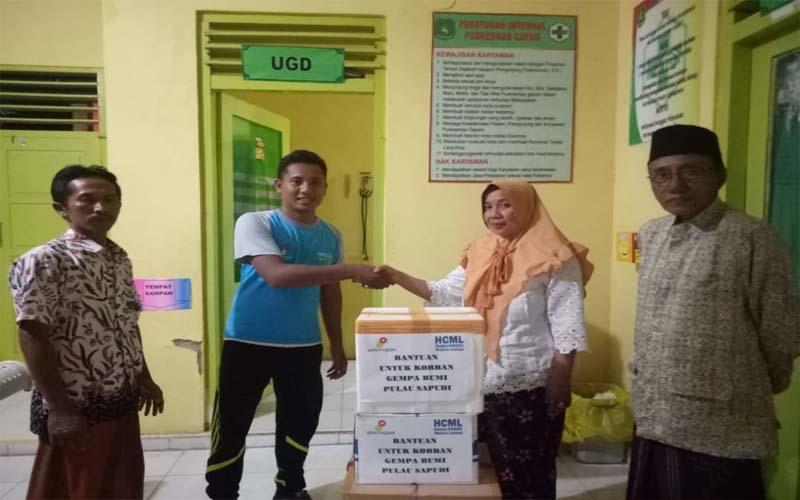 Peduli Korban Gempa, HCML Kirim Obat-obatan ke Pulau Sapudi