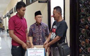 Peduli Korban Gempa Sapudi, Wartawan Sumenep Kompak Galang Dana
