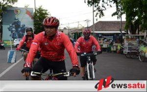Peringati Hari Sumpah Pemuda, Pusrehab Kemhan RI Gelar Gowes Semarang-Surabaya