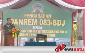 Personel TNI Harus Selalu Waspada Terhadap Bencana