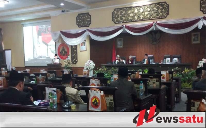 Sidang Paripurna Istimewa Hanya Dihadiri 18 Anggota Dewan, Ini Kata Bupati Busyro !!!