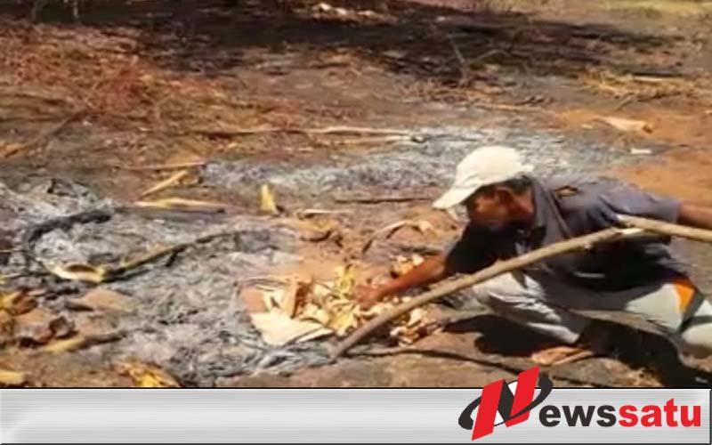 Tanah Keluarkan Bara Api, ESDM Sumenep Kok Malah Bungkam????