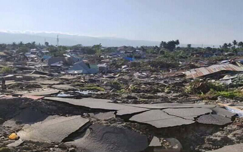 Warga Kota Probolinggo Jadi Korban Gempa Di Palu