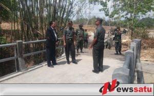 Danrem 084 Bhaskara Jaya Tinjau Pelaksanaan TMMD di Bangkalan