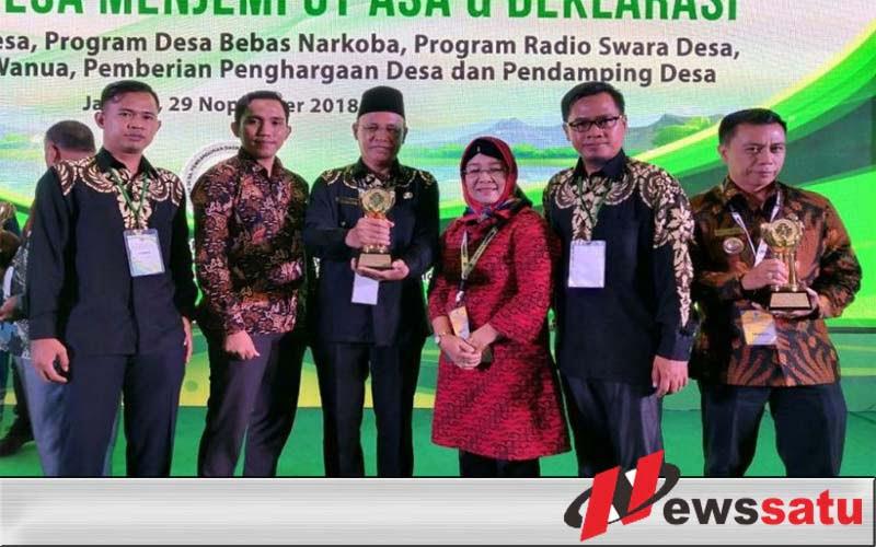Desa Tugo Mulyo Raih Penghargaan Desa Mandiri Dari Kementerian Desa