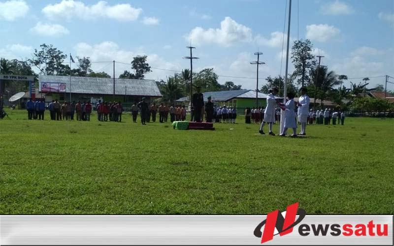 Di Perbatasan RI-Papua Nugini, Warga dan TNI Gelar Upacara Peringatan Hari Pahlawan