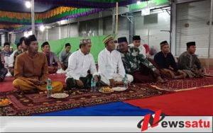 Hadir Peringatan Maulid Nabi Di PKL Pasar Bangkal, Ini Pesan Wabup Fauzi