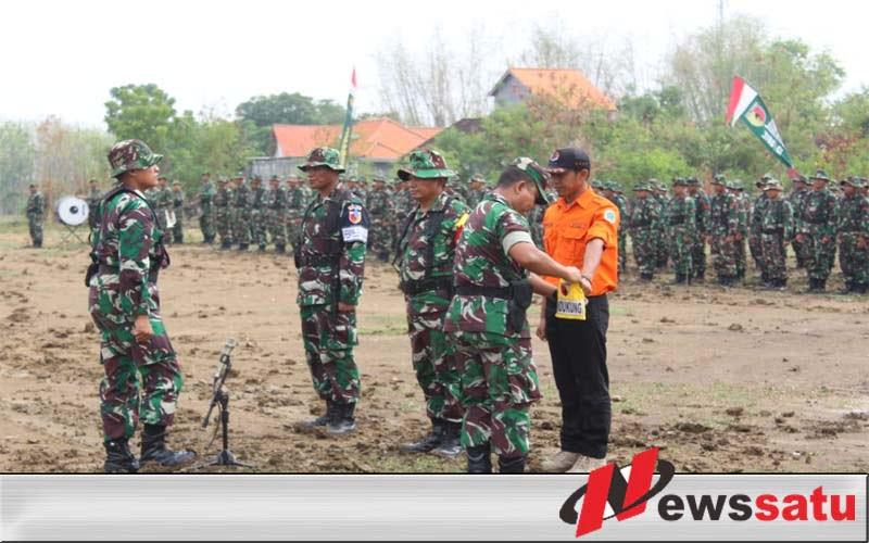 Korem 082 CPYJ Gelar Latihan Penanggulangan Bencana