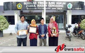 Mahasiswa STIH Ponpes Zainul Hasan Probolinggo Raih Juara 1 Debate English
