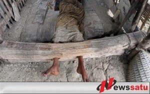 Menyedihkan, Belasan Warga Sumenep Hidup Dalam Pasungan